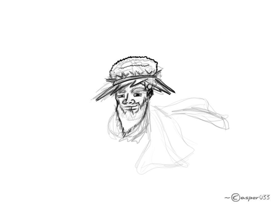 Satisfied - Sketch by casper033