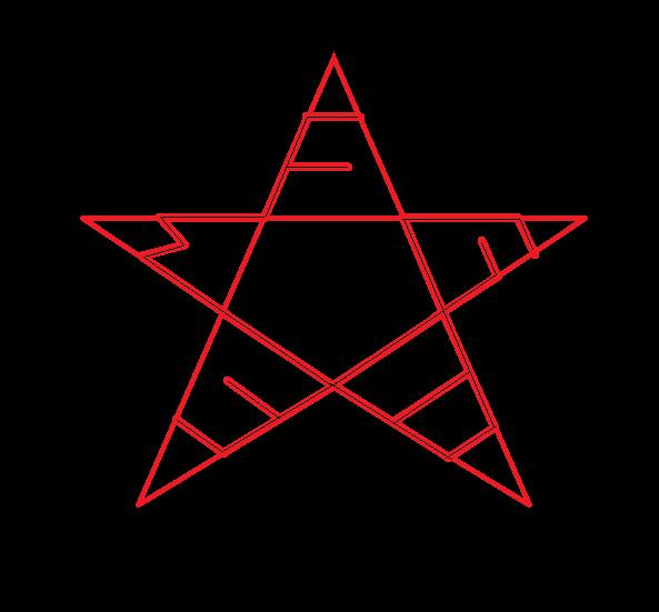 MFG38 Pentagram Logo by thatmadfinnishguy