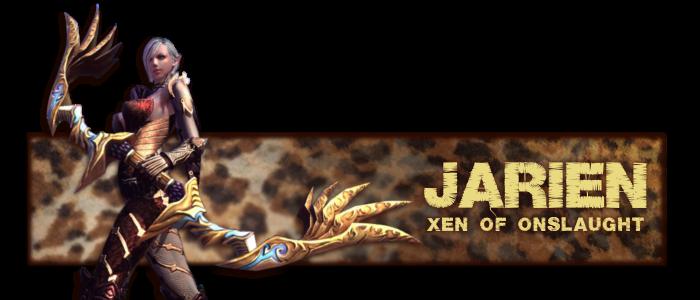 Forum signature for Jarien