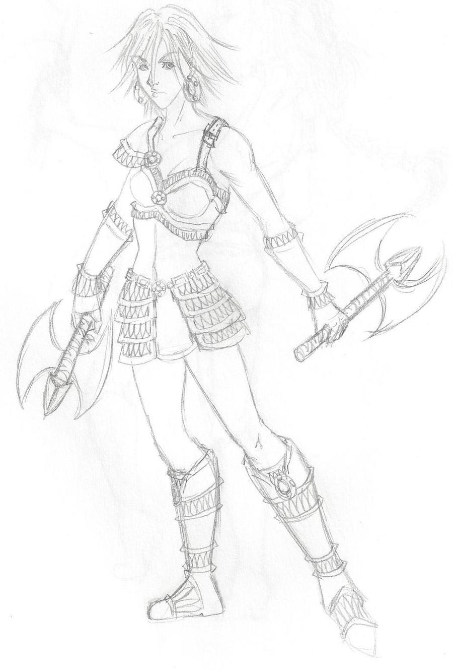 Raider Yote by kohi-ryu