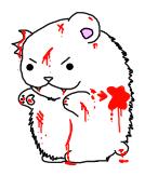 evilish polar bear RAWR by iEmopup