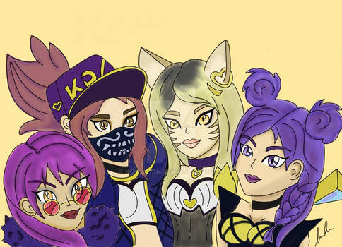 Me and the Girls- KDA