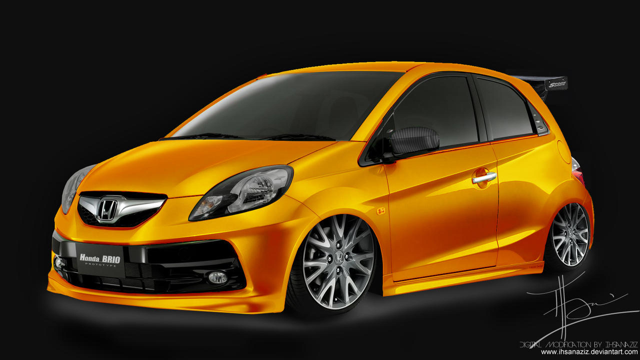 modifikasijupiterz-2016: Modifikasi Honda Brio Images
