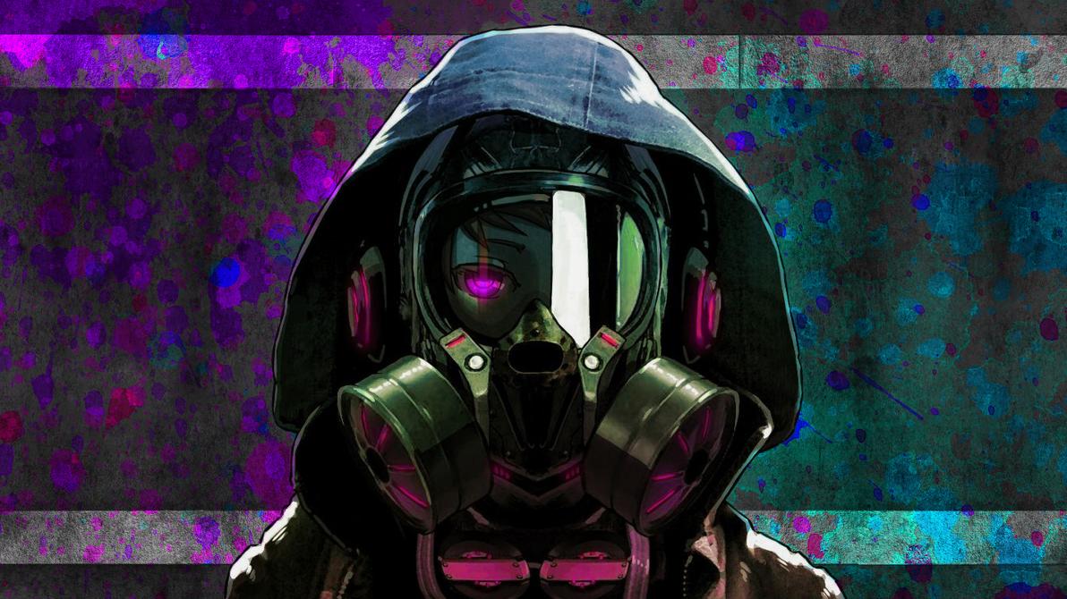 Gas Mask Girl Wallpaper By Farathil