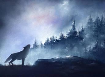 Wolves I by Rayvenjan
