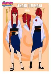 akari style BORUTO by XxGaByUzumakixX