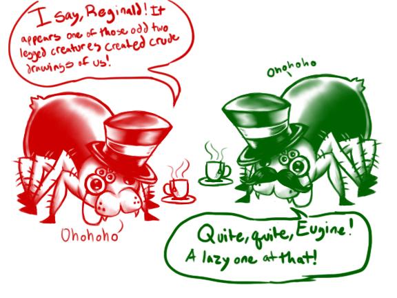 2-30: Reginald and Eugine by darklightartist