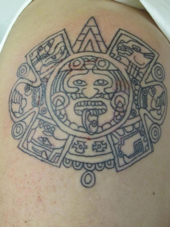 Mayan Calendar Tattoo by ~darklightartist on deviantART