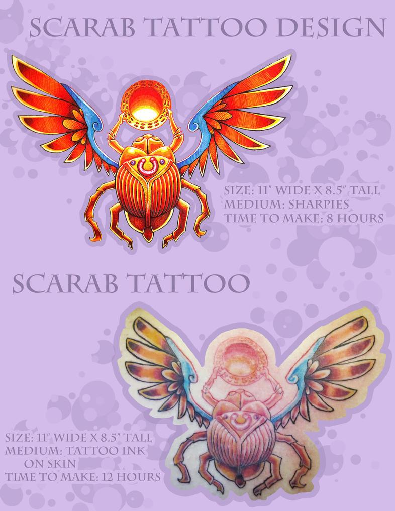Scarab tattoo design and tattoo by darklightartist on for Scarab tattoo designs