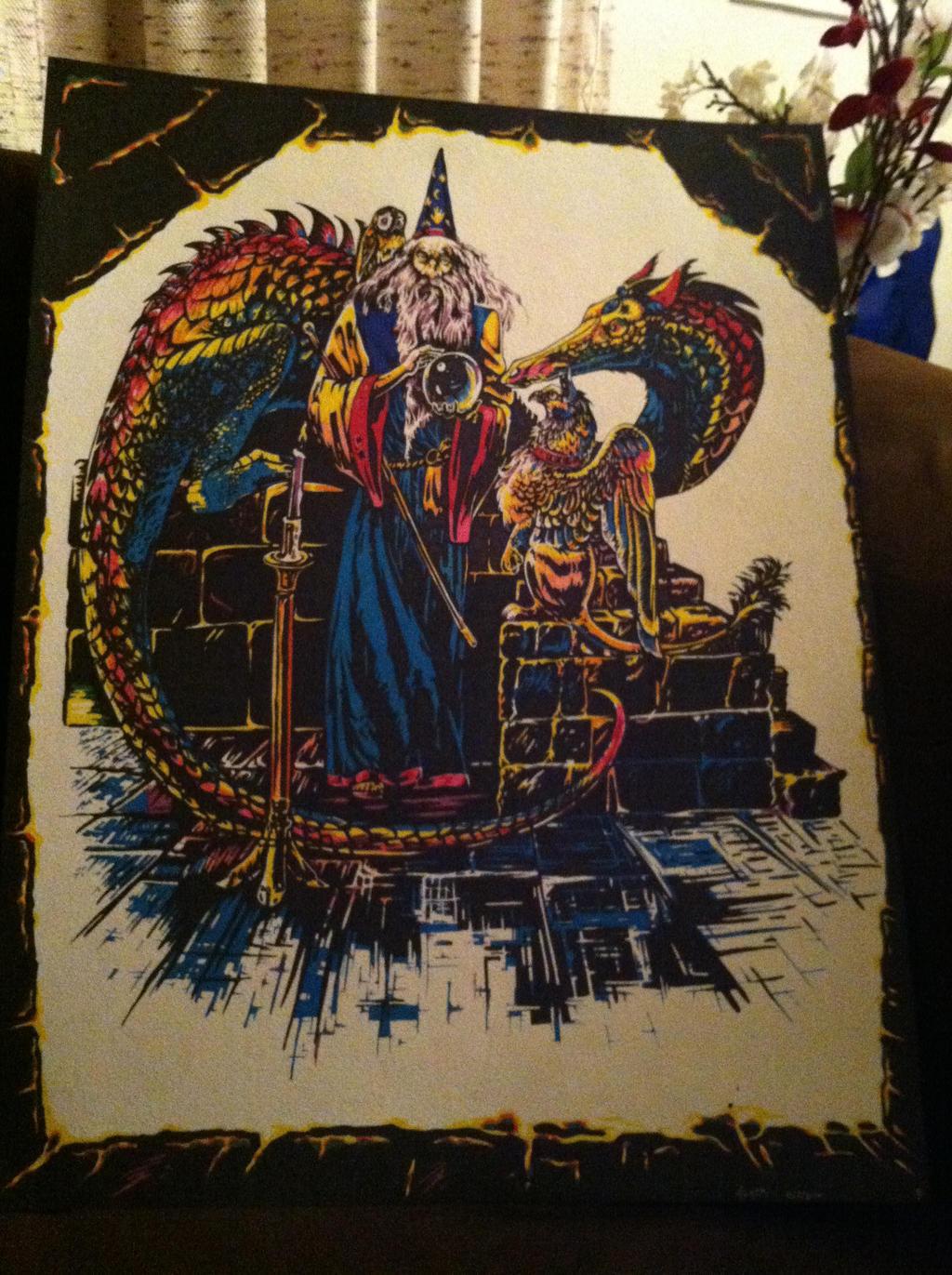 Wizard by darklightartist