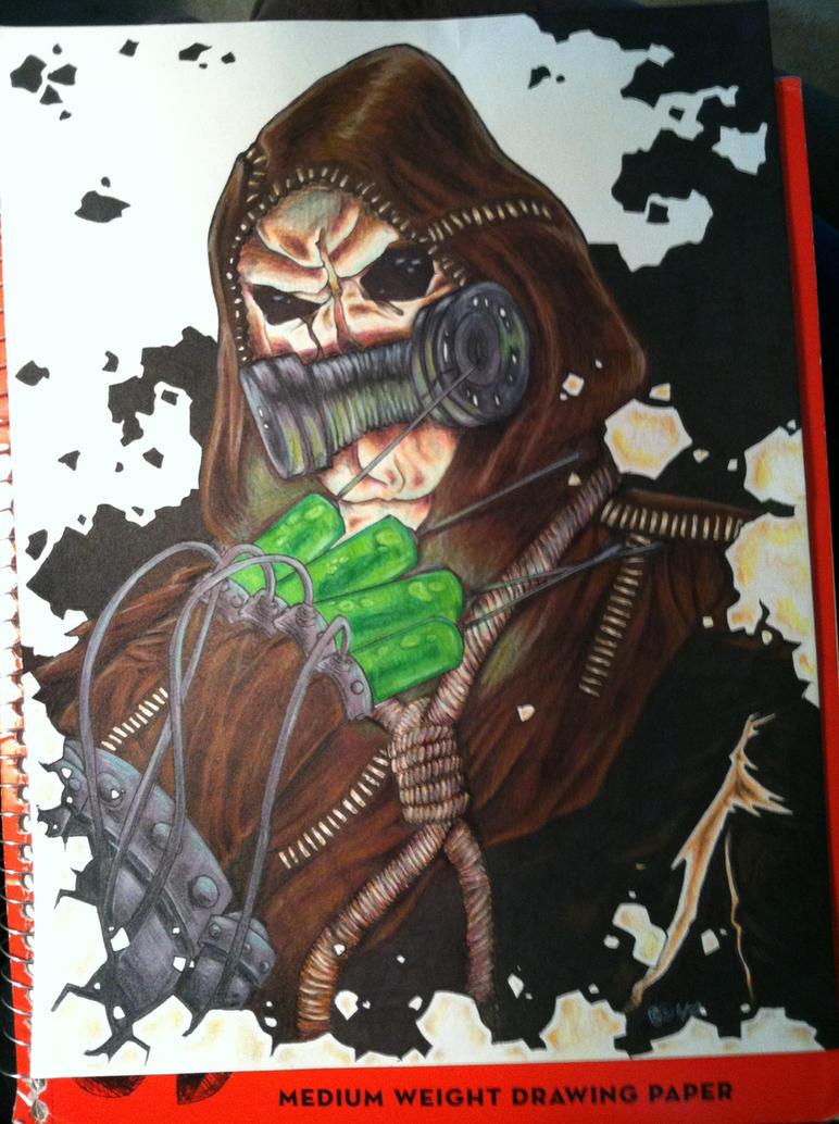 Scarecrow by darklightartist