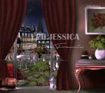 Paris Balcony View - Concept Design (NIGHT)