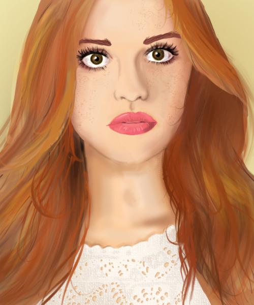Lydia Martin by lostfreddie
