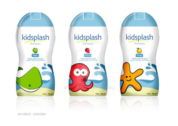 kidsplash shampoo by yosioci