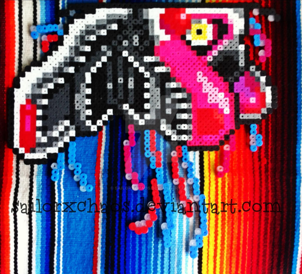Mangle perler five nights at freddy s 2 by sailorxchaos on
