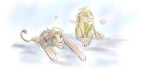 hetalia lion king: rome and germania