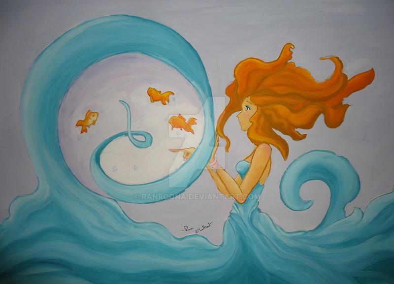 fish hair by ranroona
