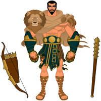 TWverse: Herakles by BSDigitalQ