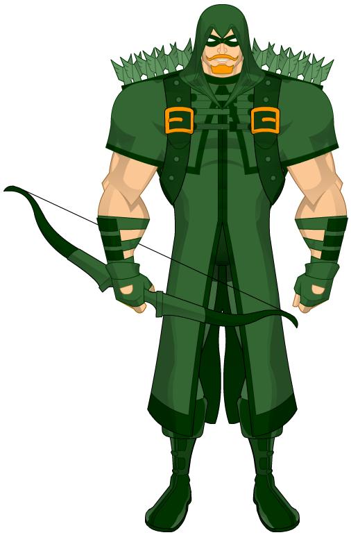 MyDCU: Green Arrow by BSDigitalQ