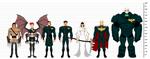 Vigil Alliance Lineup and Height Comparison by BSDigitalQ
