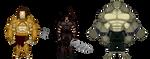 Thunder Woman Enemies: The Herathenes by BSDigitalQ