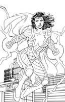 Thunder Woman by Gilbert Monsanto by BSDigitalQ