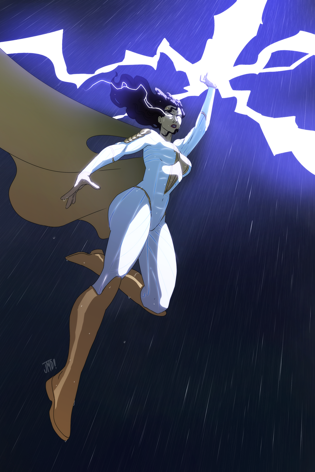 Thunder Woman by Joe Davis 2 by BSDigitalQ