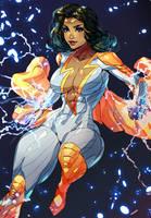 Thunder Woman by Xdtopsu01 by BSDigitalQ