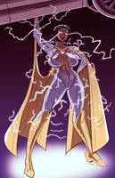 Thunder Woman by Karuvan by BSDigitalQ