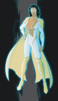 Thunder Woman by MrGreenLight by BSDigitalQ