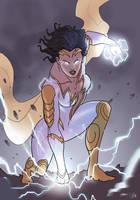 Thunder Woman by Spriteman1000 by BSDigitalQ