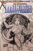 Thunder Woman Sketch Cover by Steven Butler by BSDigitalQ
