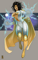 Thunder Woman by RamArtwork by BSDigitalQ