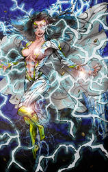 Thunder Woman by Peter Colp by BSDigitalQ