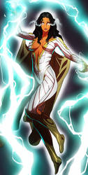 Thunder Woman by CHUBETO by BSDigitalQ