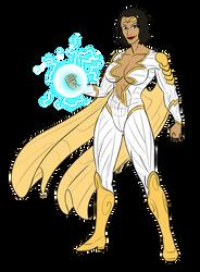 Thunder Woman by Pyras Terran by BSDigitalQ