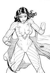 Thunder Woman by adagadegelo by BSDigitalQ
