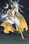 Thunder Woman by Claret821021 by BSDigitalQ