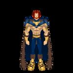 Birthday Fanart: Taranis the Thunderlord by BSDigitalQ