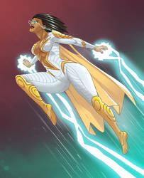 Thunder Woman by Niko Alecsovich