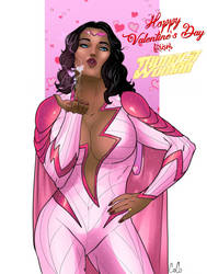 Happy Valentine's Day from Thunder Woman!