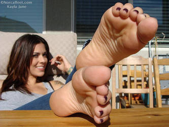 Kayla Jane Feet Toes Soles by footmatic