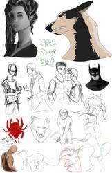 Sketch Dump 01 by Dawn2Nightfall