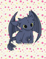 Toothless chibi by MisChibiOus