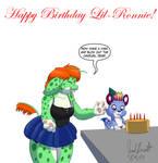 LilRonnie Birthday Card 2019