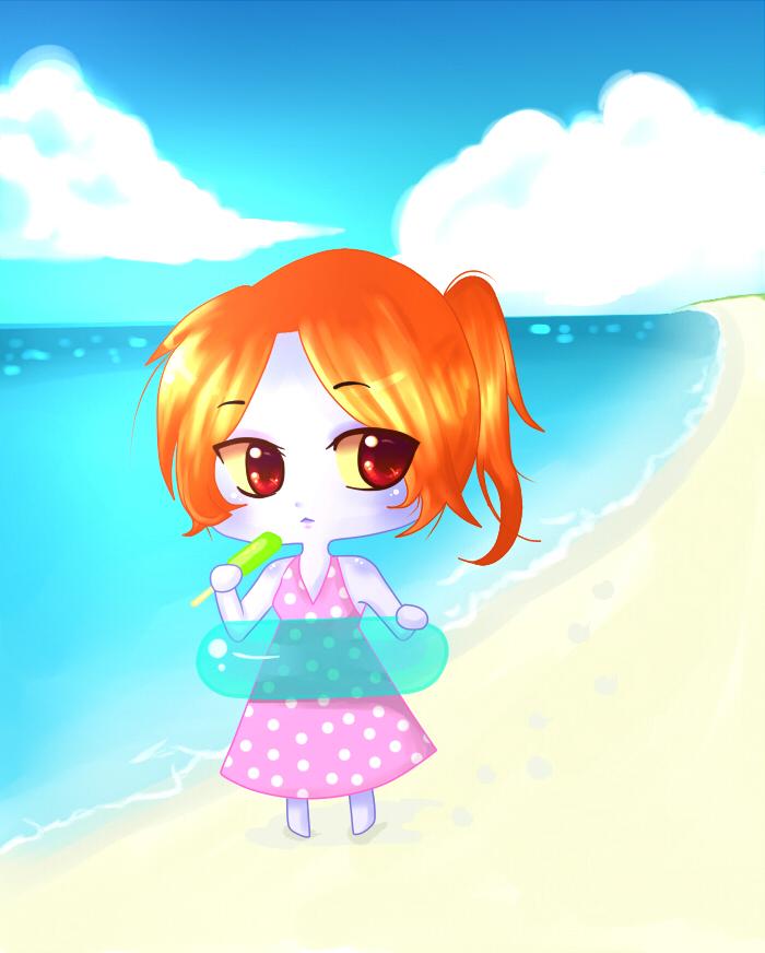 Midna Beach fun Summer series by A-Unmei