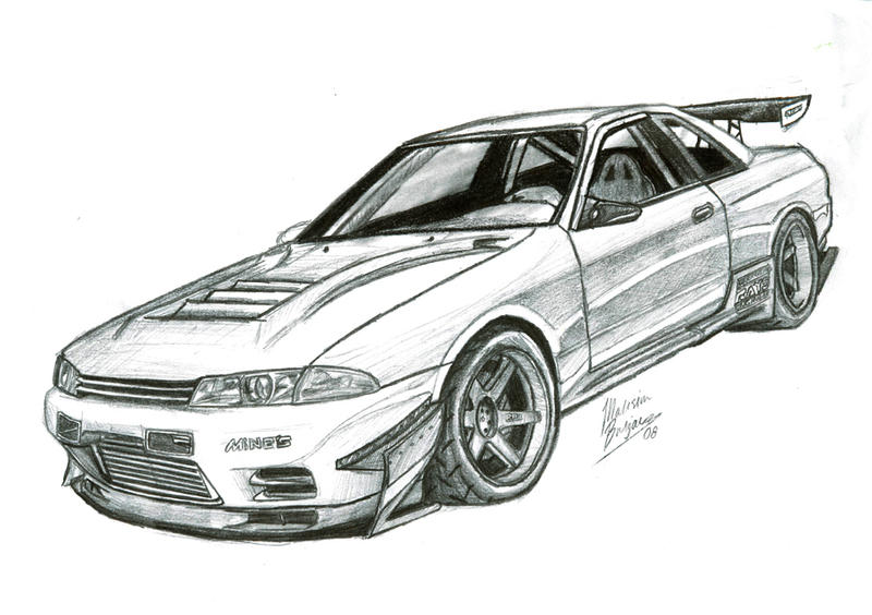 Time Attack Gtr By Mspek On Deviantart