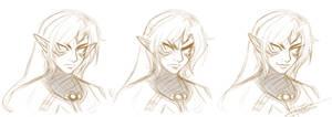 Fierce Deity Link Sketch