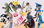 Super Smash Bros Wii U - The Fighters (Remake)