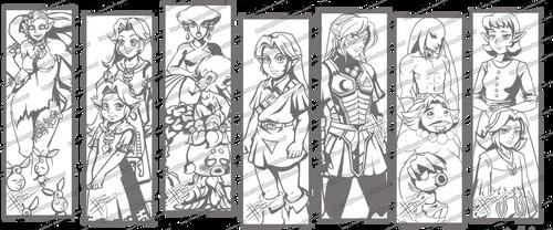 +Preview+ Majora's Mask Sketch